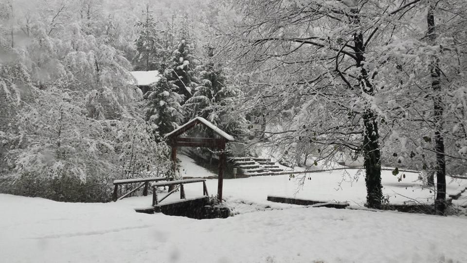 Zimska idila Dom izviđača Kiseljak