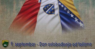 Čestitka u povodu 9.septembra,Dana oslobođenja općine Tešanj od fašizma