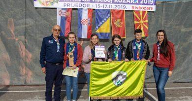 """Prvo mjesto na Međunarodnom izviđačkom višeboju""""Kozara 2019"""" Prijedor"""